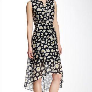 NWT Alice + Olivia Daisy Hi-low Open Back Dress